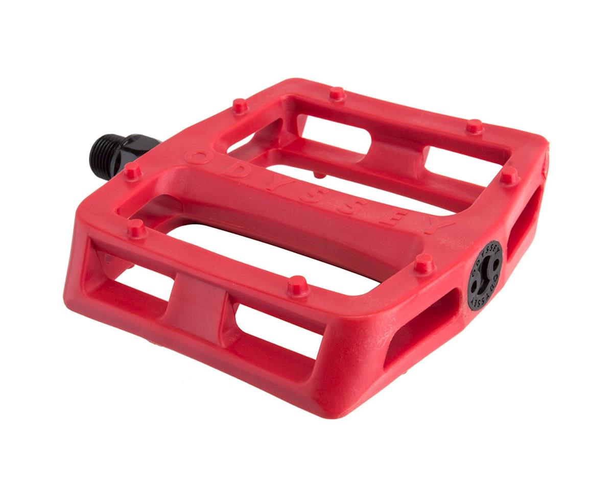"Odyssey Grandstand PC 9/16"" Pedals (Red)"