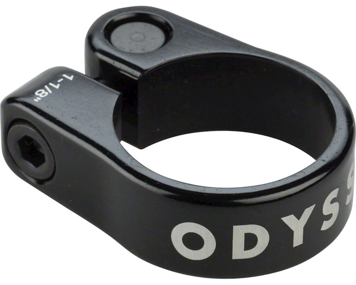 "Odyssey Slim Seatpost Clamp (Black) (1-1/8"")"