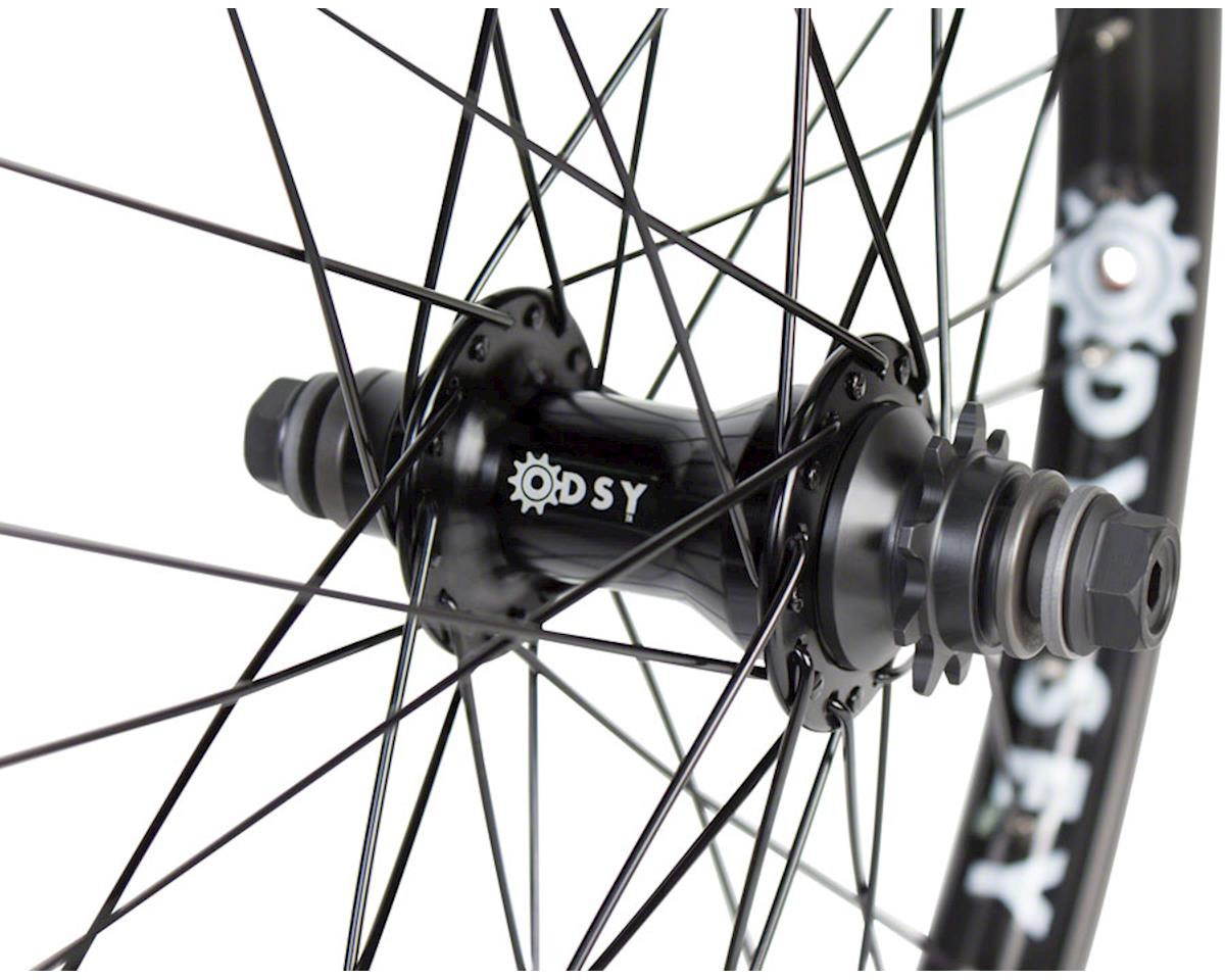 Odyssey Q2 Rear LHD Cassette Wheel (Black) (9T)
