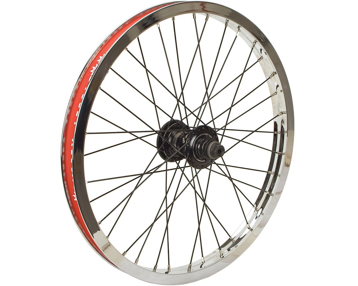Odyssey Hazard Lite Freecoaster Rear Wheel (Chrome) (9T) (Left Hand Drive)