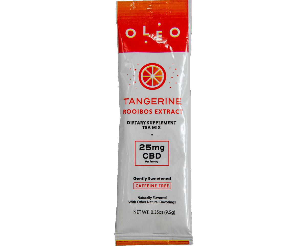 Oleo CBD Rooibos Tea Packet (Tangerine) (24 0.35oz Packets)