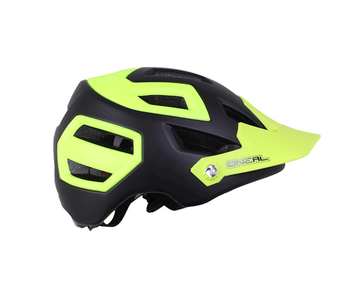 Pike enduro helmet, black/yellow
