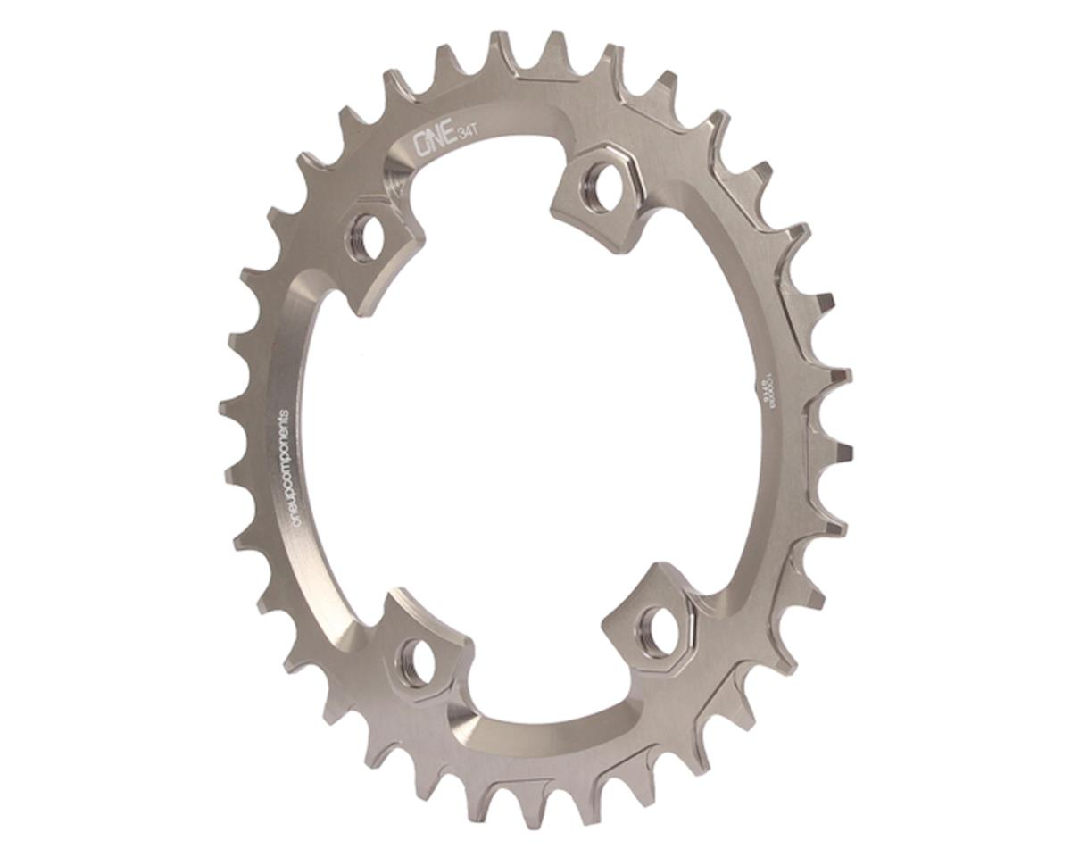 OneUp Components XTR M9000 Round Chainring (Grey) (96 BCD) (34T)