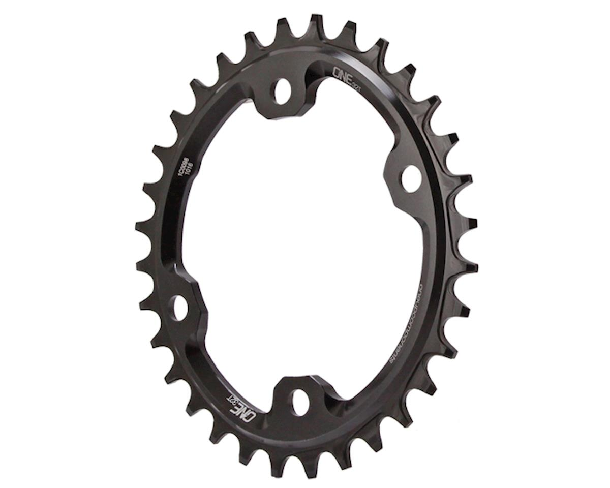 OneUp Components XT M8000 oval chainring, 96BCD 32T - black