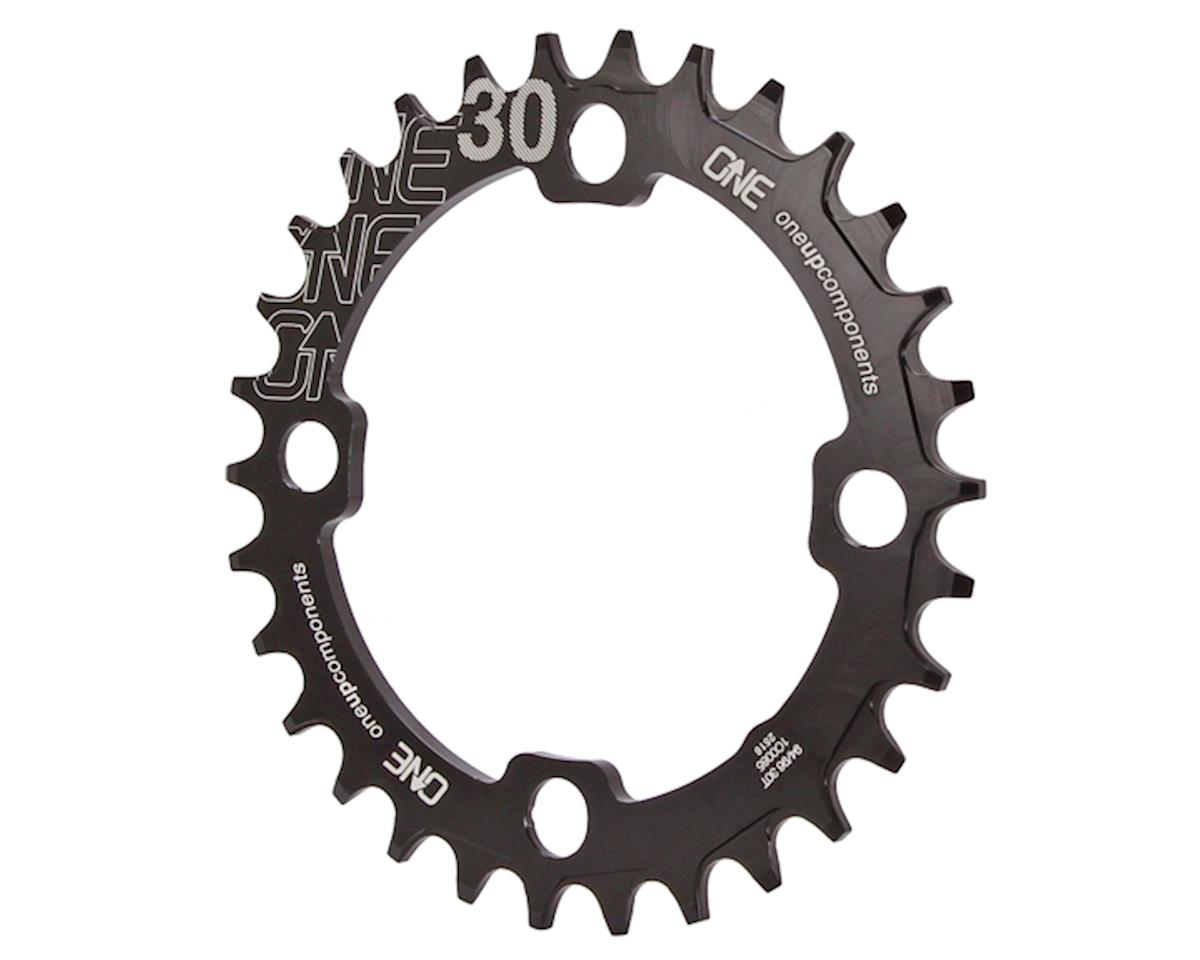 OneUp Components 94/96 Round Chainring (Black) (94/96BCD) (30T)