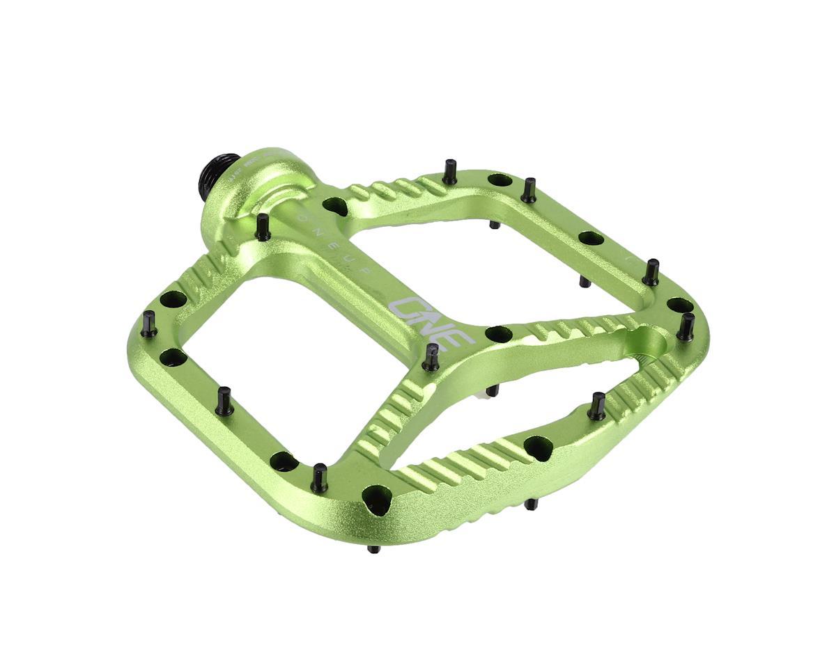 OneUp Components Aluminum Platform Pedals (Green)
