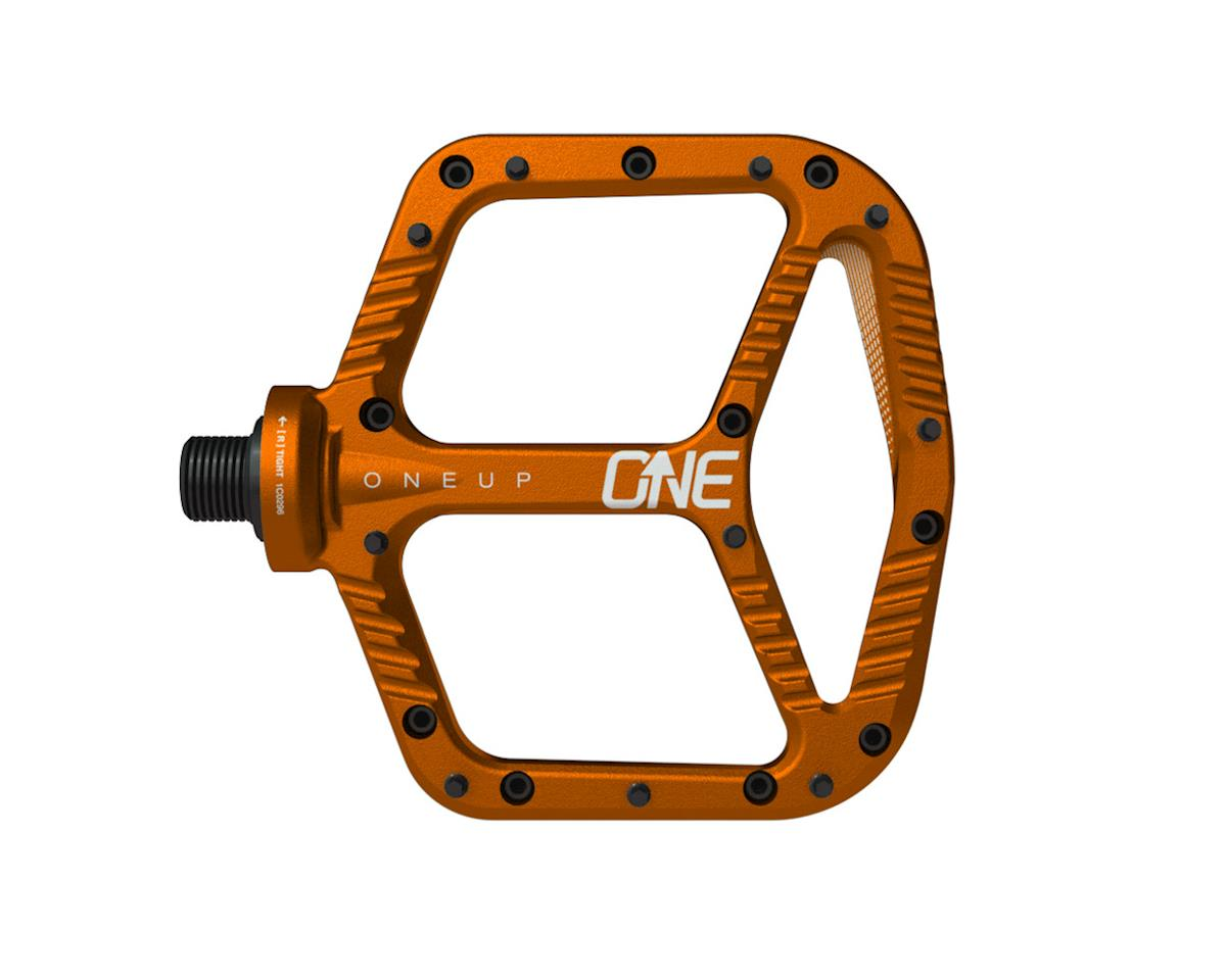 OneUp Components Aluminum Platform Pedals (Orange)