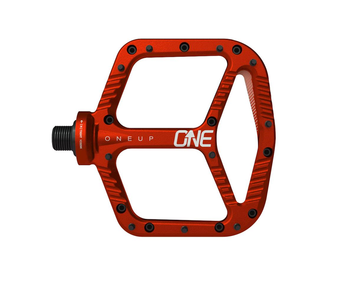 OneUp Components Aluminum Platform Pedals (Red)