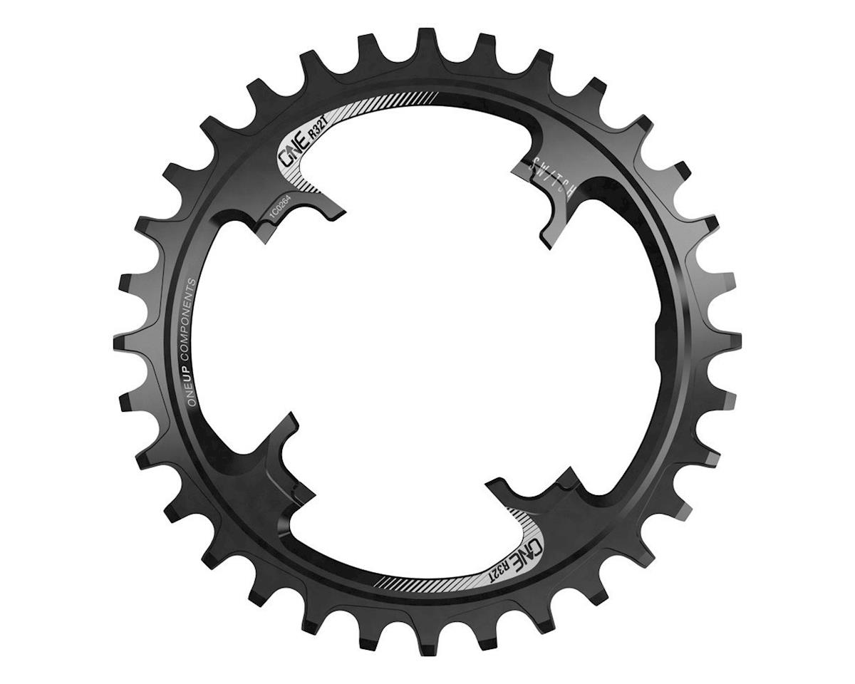 OneUp Components Switch Round Chainring (Black) (30T)
