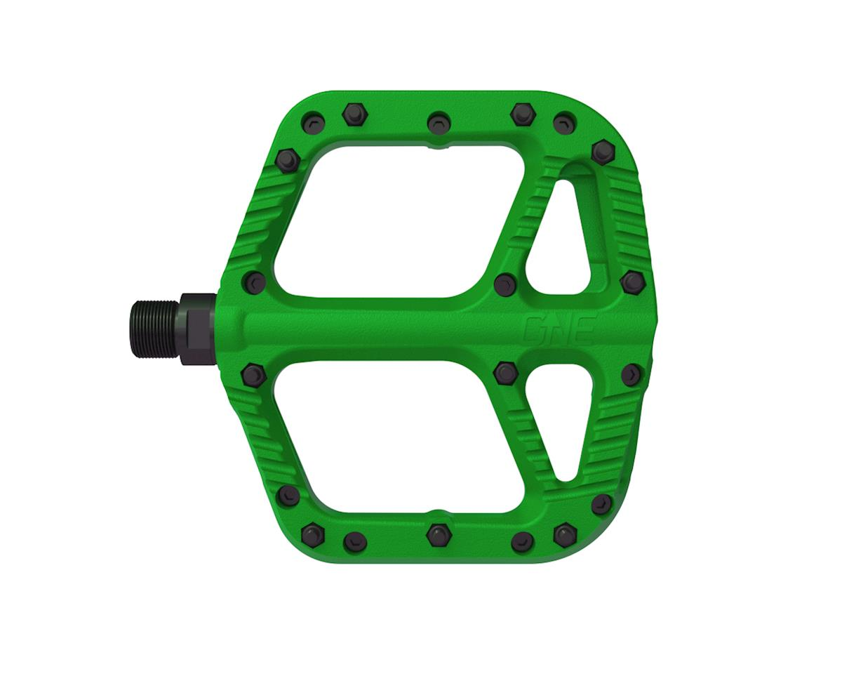 OneUp Components Comp Platform Pedals (Green)