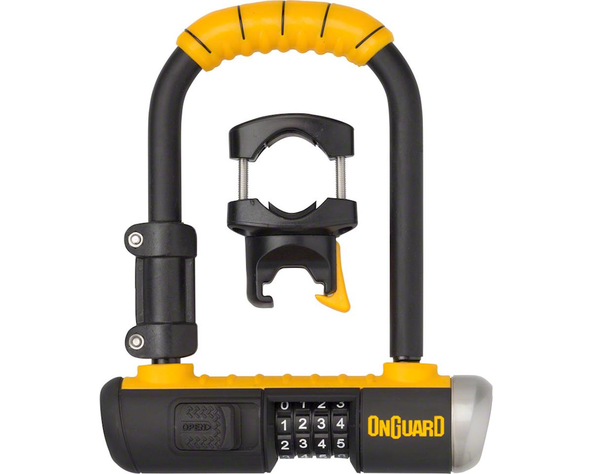 OnGuard Bulldog Mini Lean and Mean U-Lock Black//Yellow 4.5 x 9/""