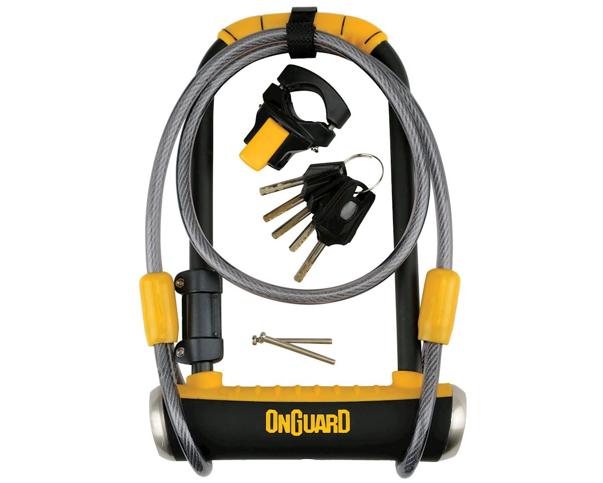Onguard 8005 Pitbull DT U-Lock with Cable