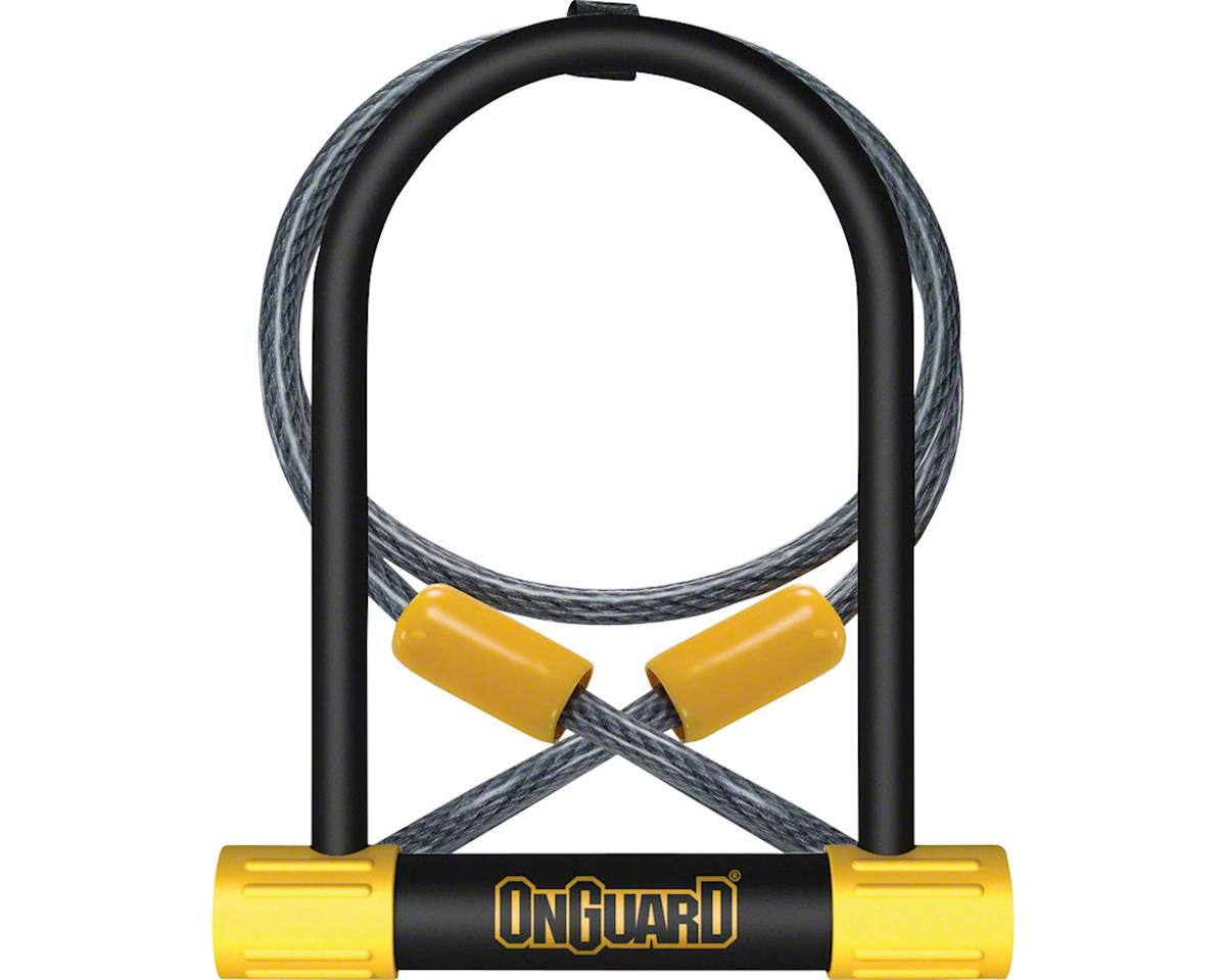 "OnGuard Bulldog 4.5 x 9"" U-Lock with 4' Cable"