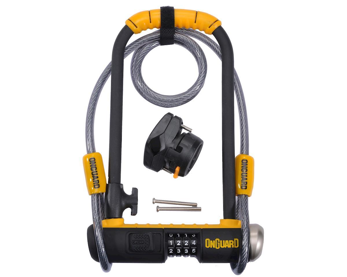 Image 1 for Onguard Bulldog Combination U-Lock Cable Combo