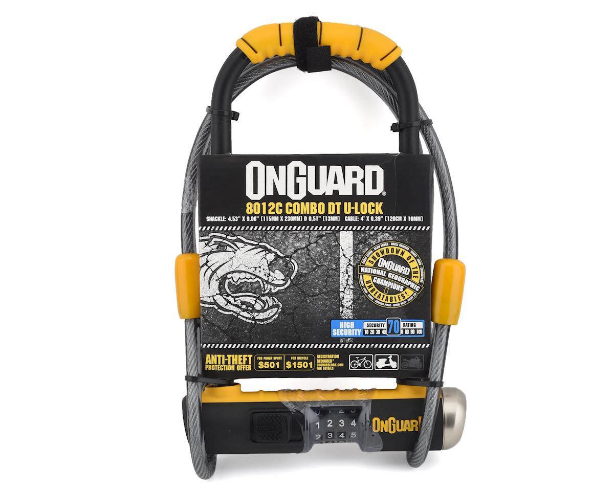 Image 2 for Onguard Bulldog Combination U-Lock Cable Combo