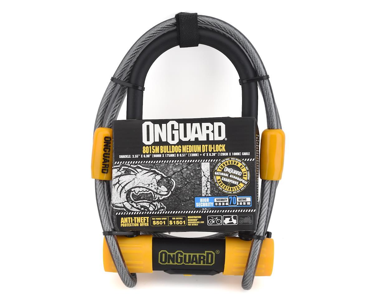 Onguard Bulldog DT U-Lock & Cable Combo