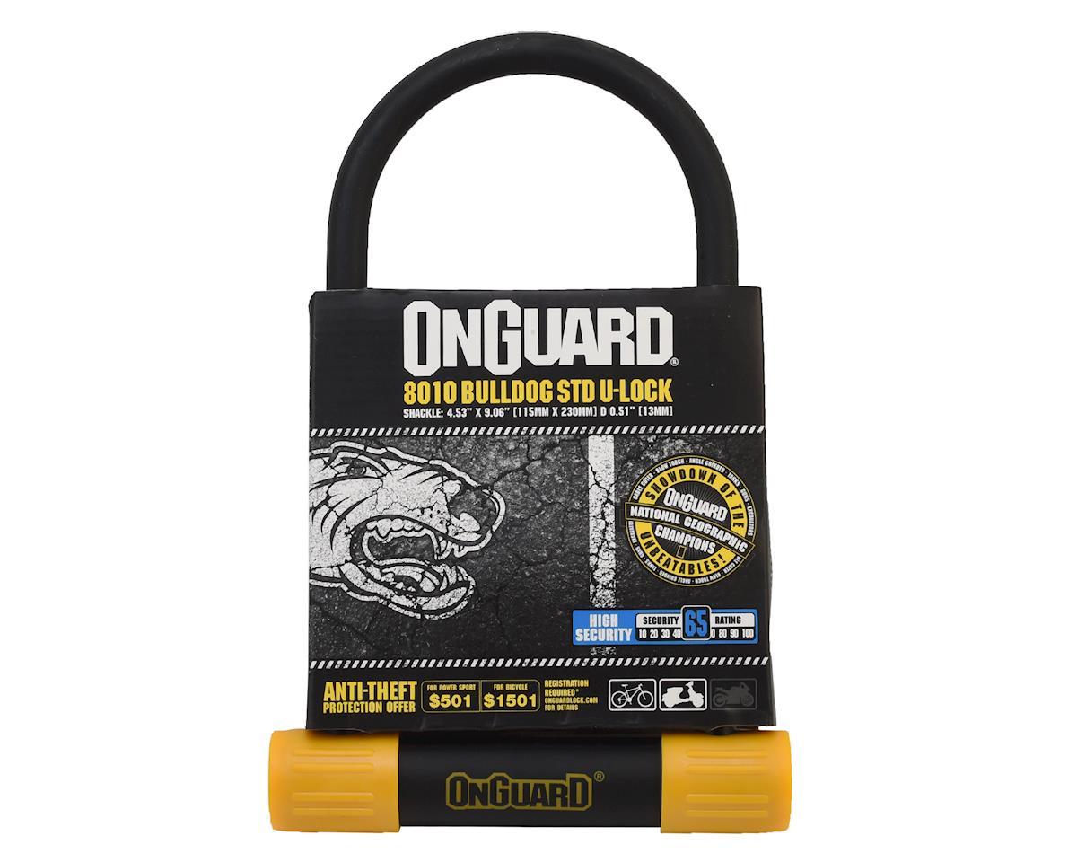 "Onguard Bulldog STD U-Lock (4.53x9.06"")"