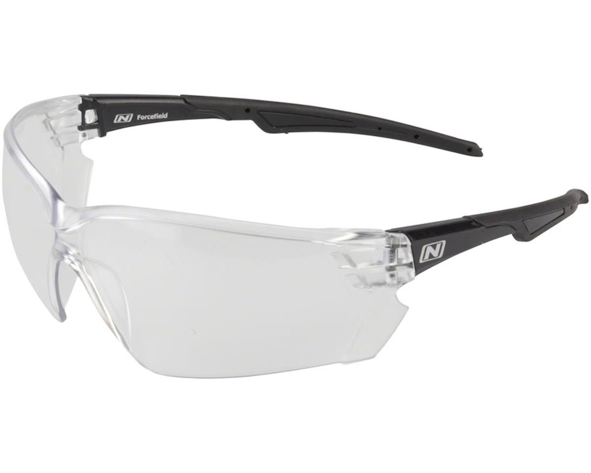 Optic Nerve Safety Glasses (Clear Lens, Black Frame)