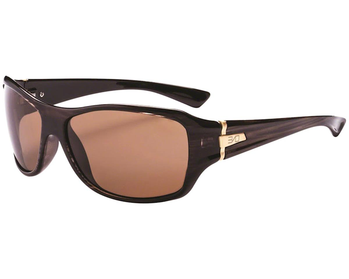 Optic Nerve ONE Athena Polarized Sunglasses (Shiny Driftwood Demi) (Brown Lens)
