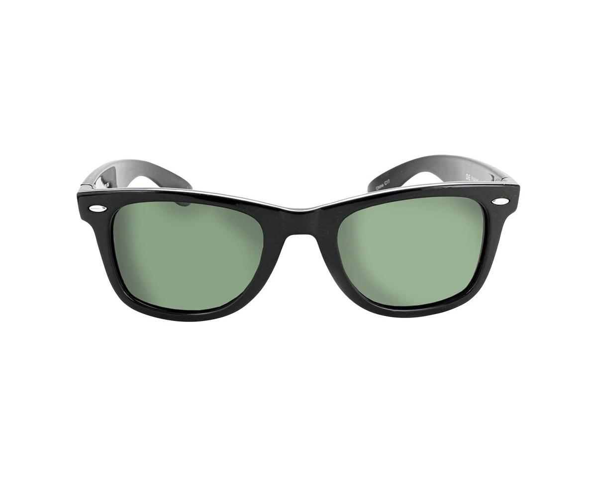 Optic Nerve Dylan Polarized Sunglasses (Shiny Black) (Grey Lens)
