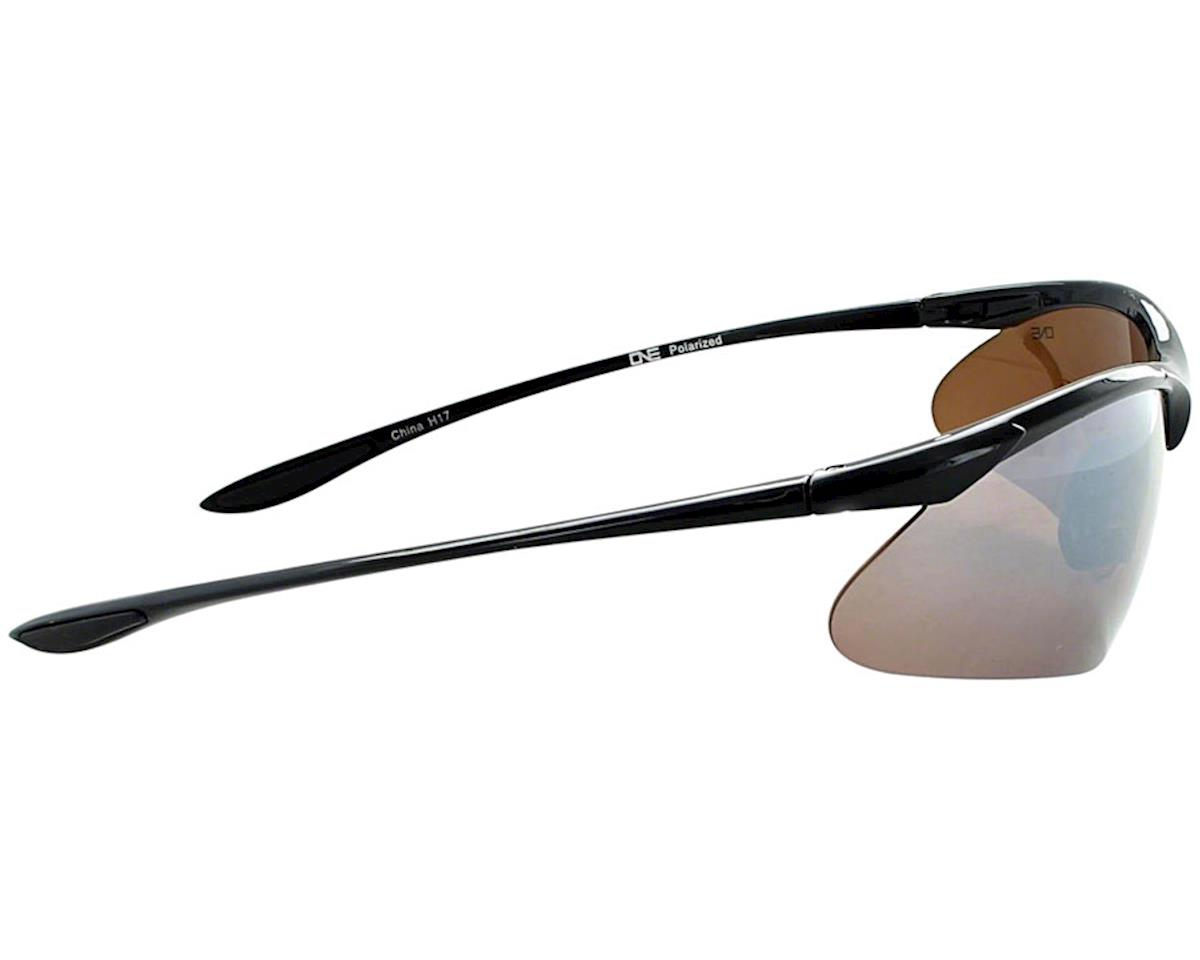 Optic Nerve ONE Tightrope Polarized Sunglasses (Shiny Black)