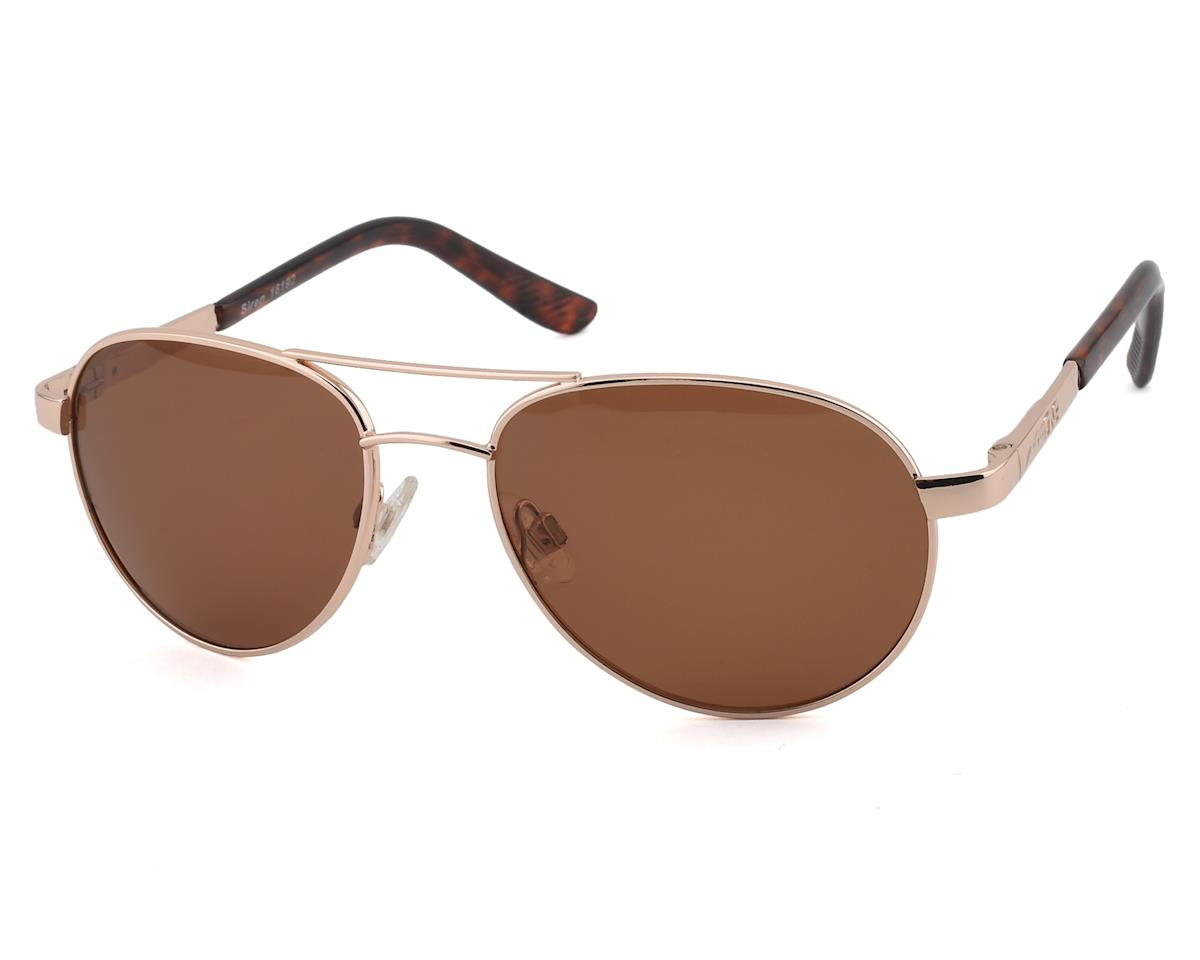 Optic Nerve ONE Siren Polarized Sunglasses (Gold with Polarized Brown Lens)