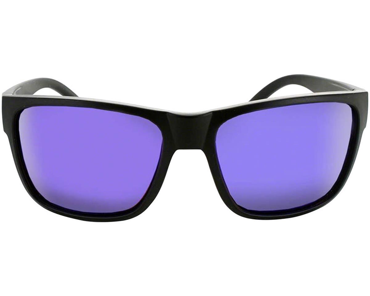 Optic Nerve ONE Kingfish Sunglasses (Matte Black) (Brown Blue Mirror Lens)