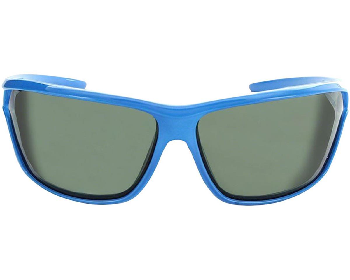 Image 2 for Optic Nerve Dedisse Sunglasses (Shiny Blue) (Smoke/Silver Flash Lens)