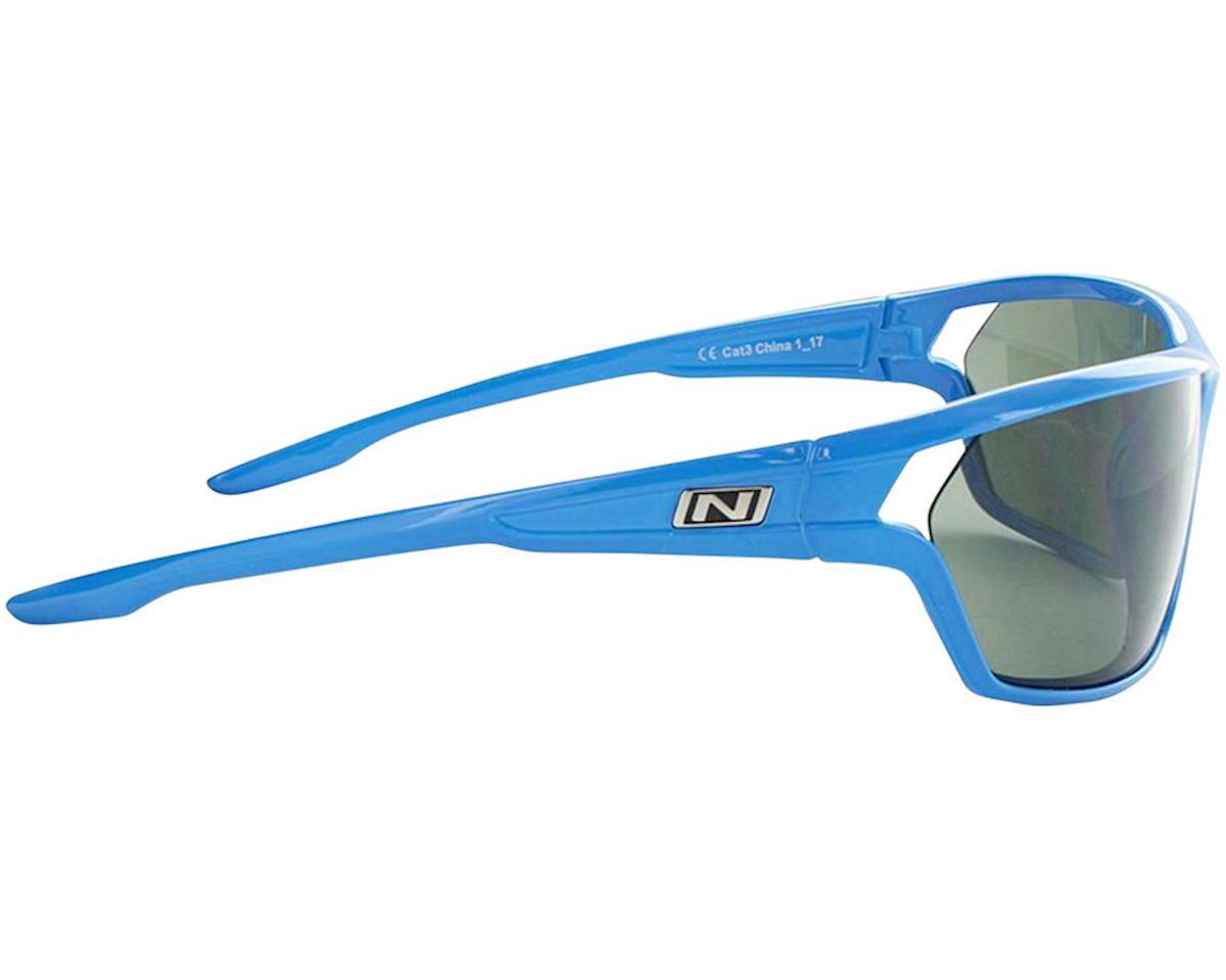 Image 3 for Optic Nerve Dedisse Sunglasses (Shiny Blue) (Smoke/Silver Flash Lens)