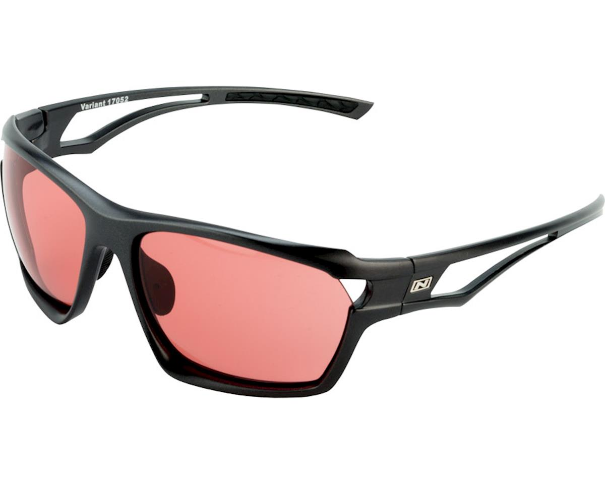 Optic Nerve Variant Photochromatic Sunglasses (Shiny Carbon)