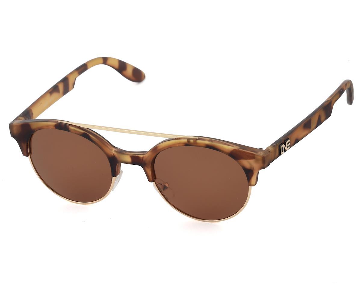 Optic Nerve ONE Busby Sunglasses (Matte Honey Demi) (Polarized Brown Lens)