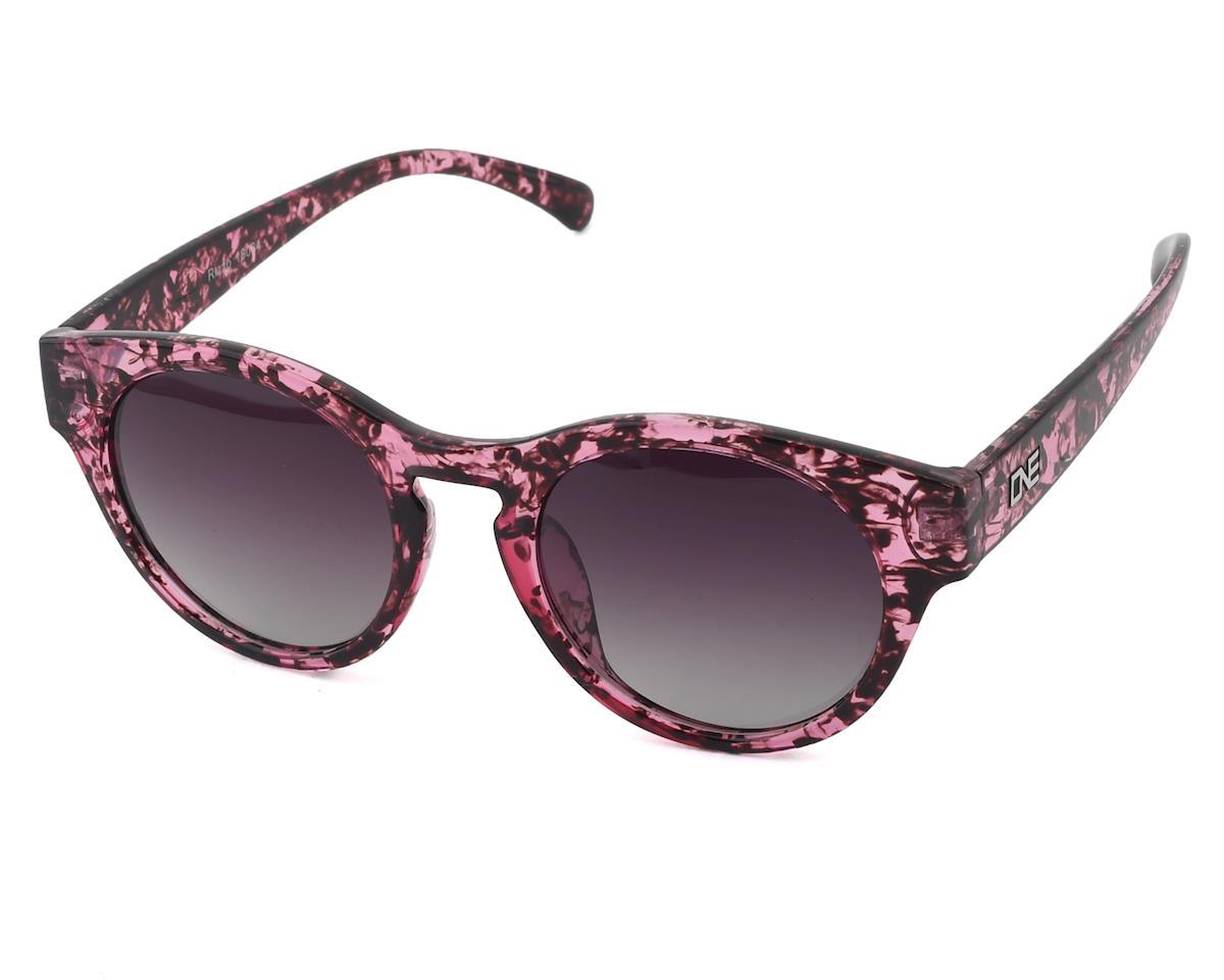 Optic Nerve ONE Rizzo Polarized Sunglasses (Shiny Purple Marble)