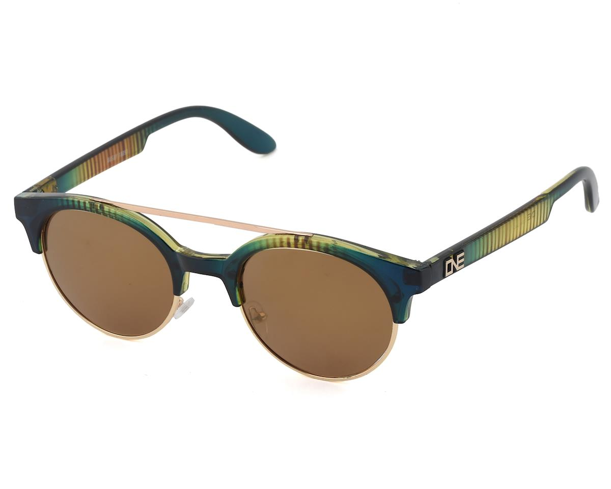 Optic Nerve ONE Busby Polarized Sunglasses (Vertical Crystal Turquoise)
