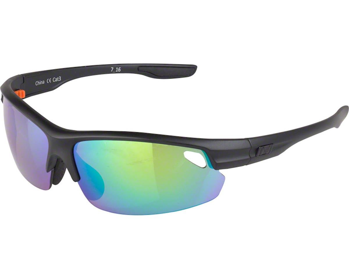Optic Nerve Desoto Flip Off Sunglasses (Matte Black)