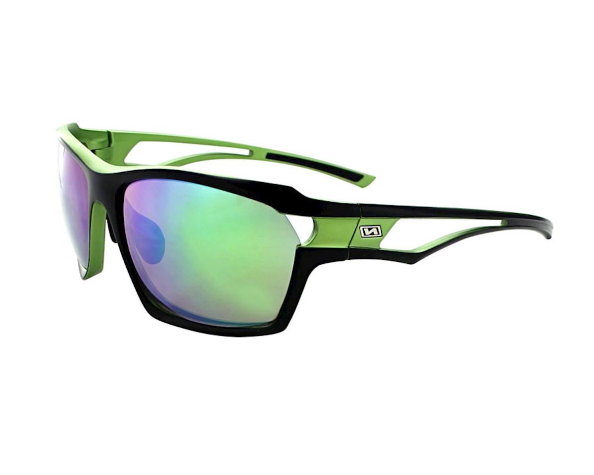 Optic Nerve Variant Sunglasses (Matte Aluminum Green)
