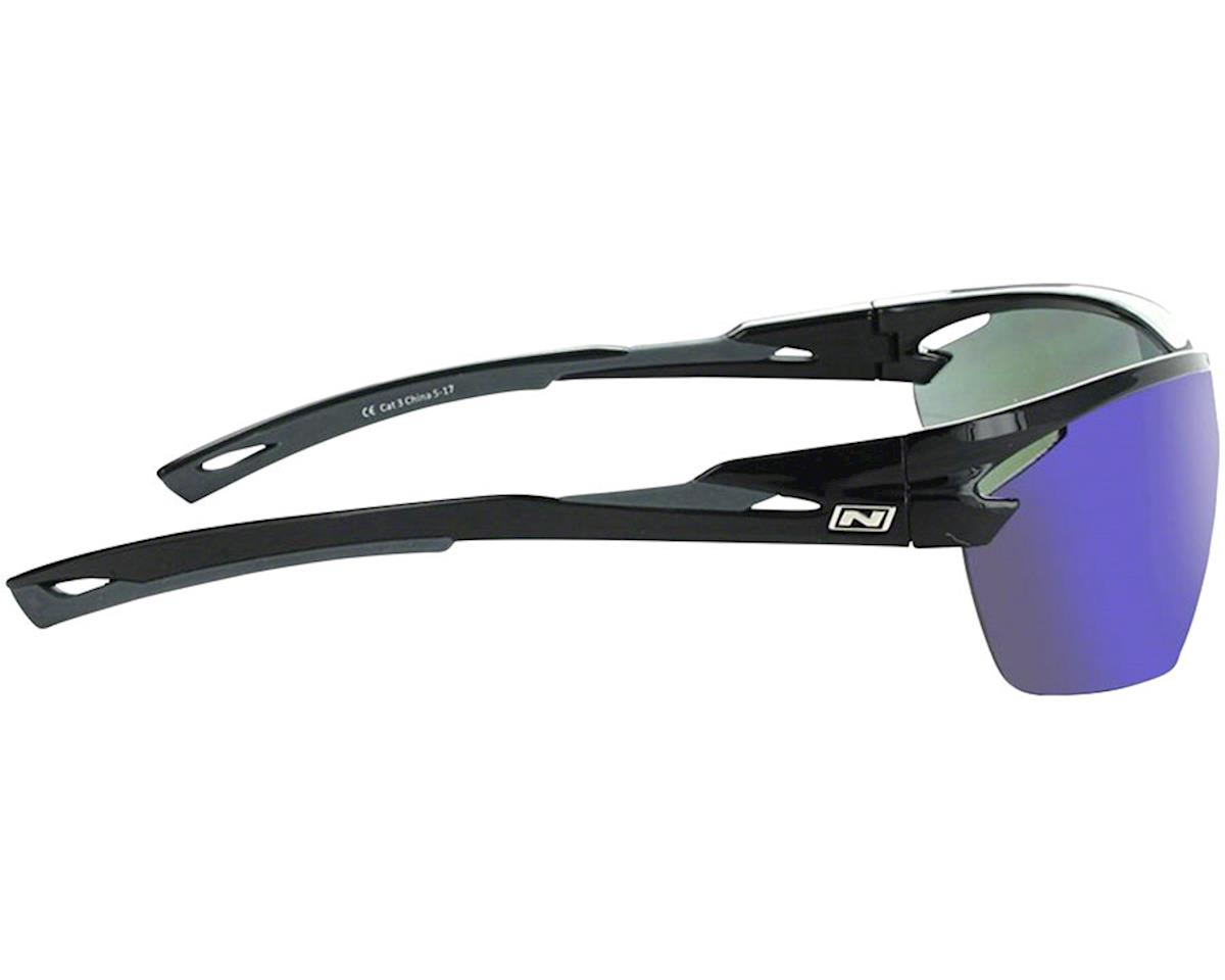 Image 3 for Optic Nerve Tach Sunglasses (Shiny Black/Grey) (Grey Blue Mirror Lens)