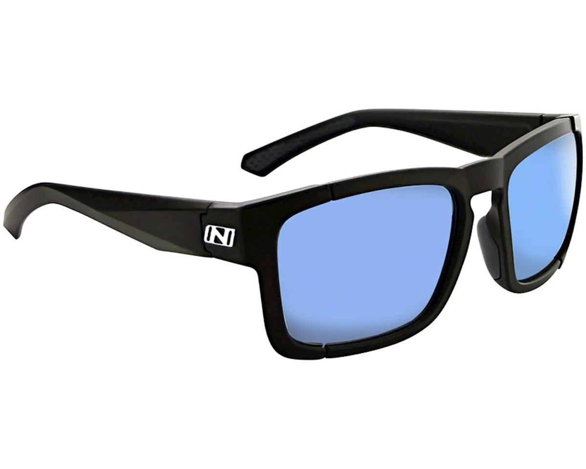 Optic Nerve Vettron Sunglasses (Matte Black) (Smoke Ice Blue Mirror Lens) | relatedproducts