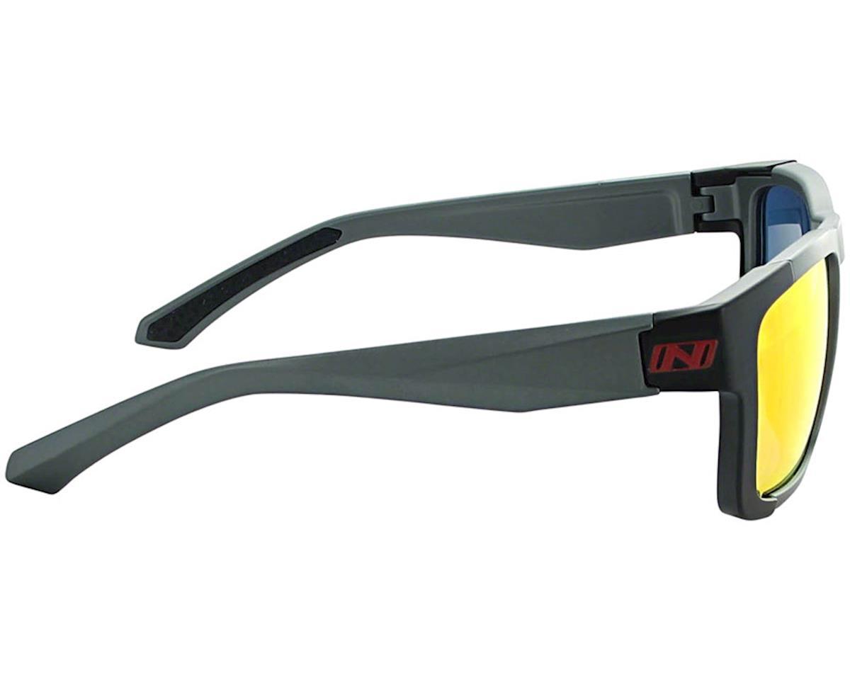 Image 2 for Optic Nerve Vettron Sunglasses (Matte Carbon/Black) (Smoke Red Mirror Lens)