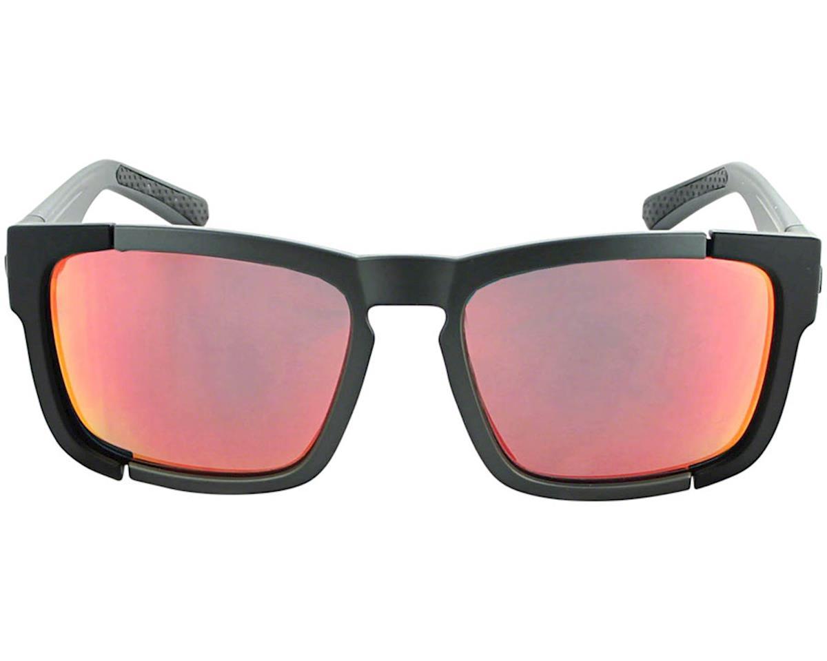 Image 3 for Optic Nerve Vettron Sunglasses (Matte Carbon/Black) (Smoke Red Mirror Lens)