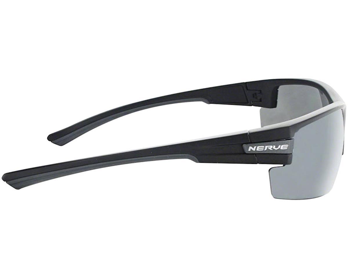 Optic Nerve Maxxum Sunglasses (Matte Black/Carbon) (Smoke/Silver Flash Lens)