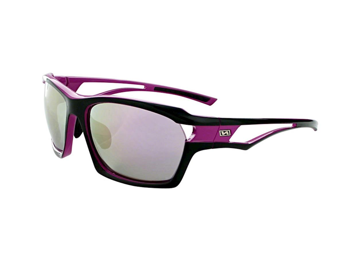 Optic Nerve Cassette Sunglasses (Shiny Violet/Black)