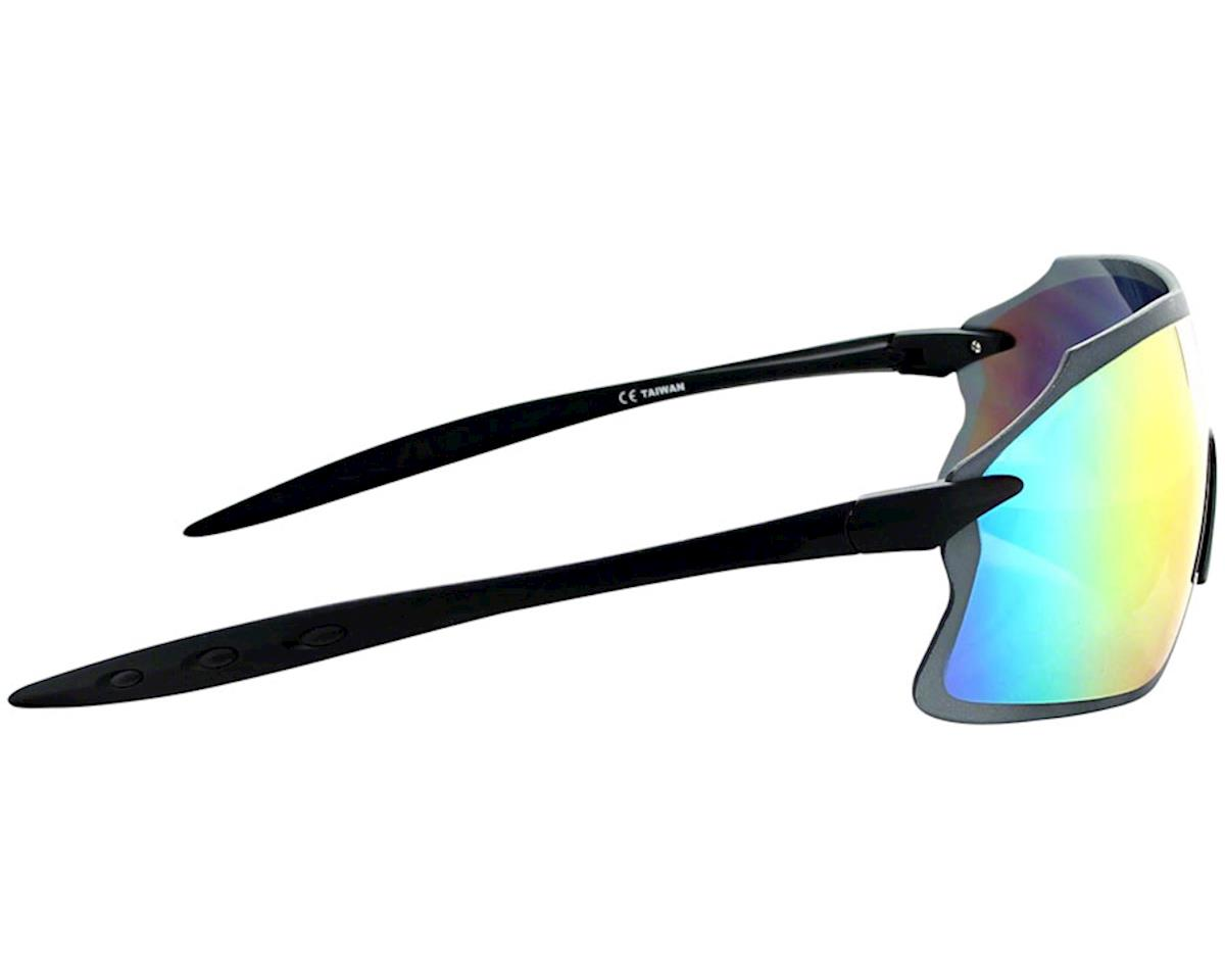 Optic Nerve Fixie Pro Sunglasses (Matte Black) (Smoke Red mirror Lens)