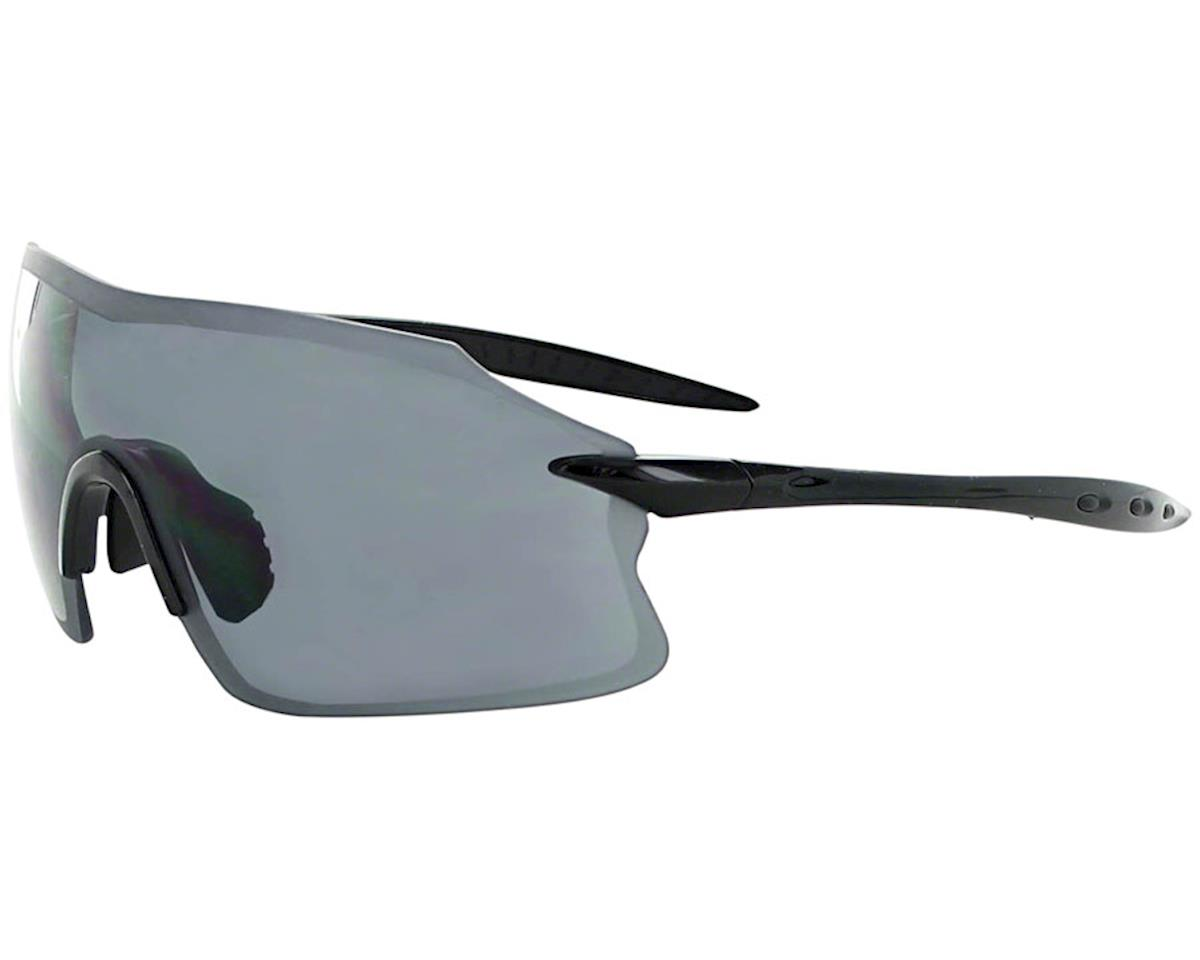 Optic Nerve Fixie Pro Sunglasses (Shiny Black) (Smoke Mirror Lens)