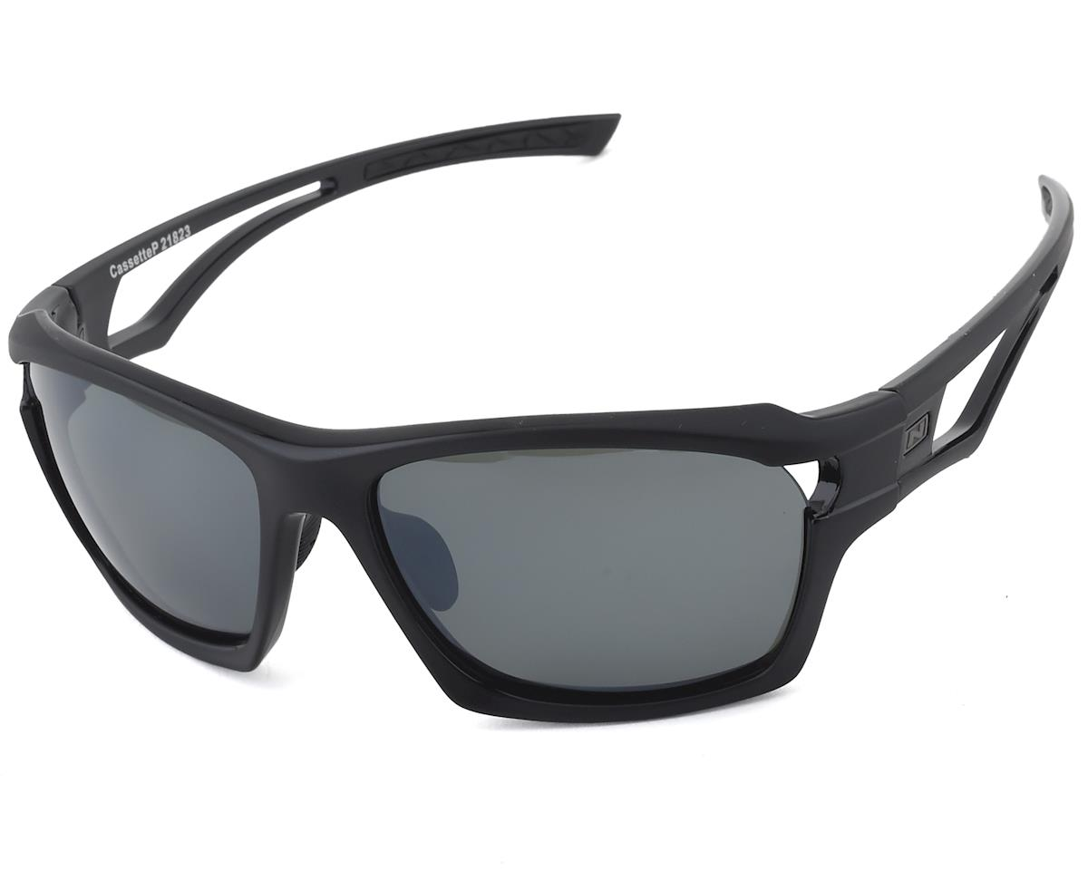Optic Nerve Cassette Polarized Sunglasses (Two Tone Black) (Polarized)