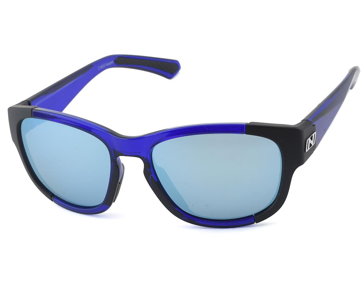 Optic Nerve Vesper Sunglasses (Crystal Navy/Matte Black)