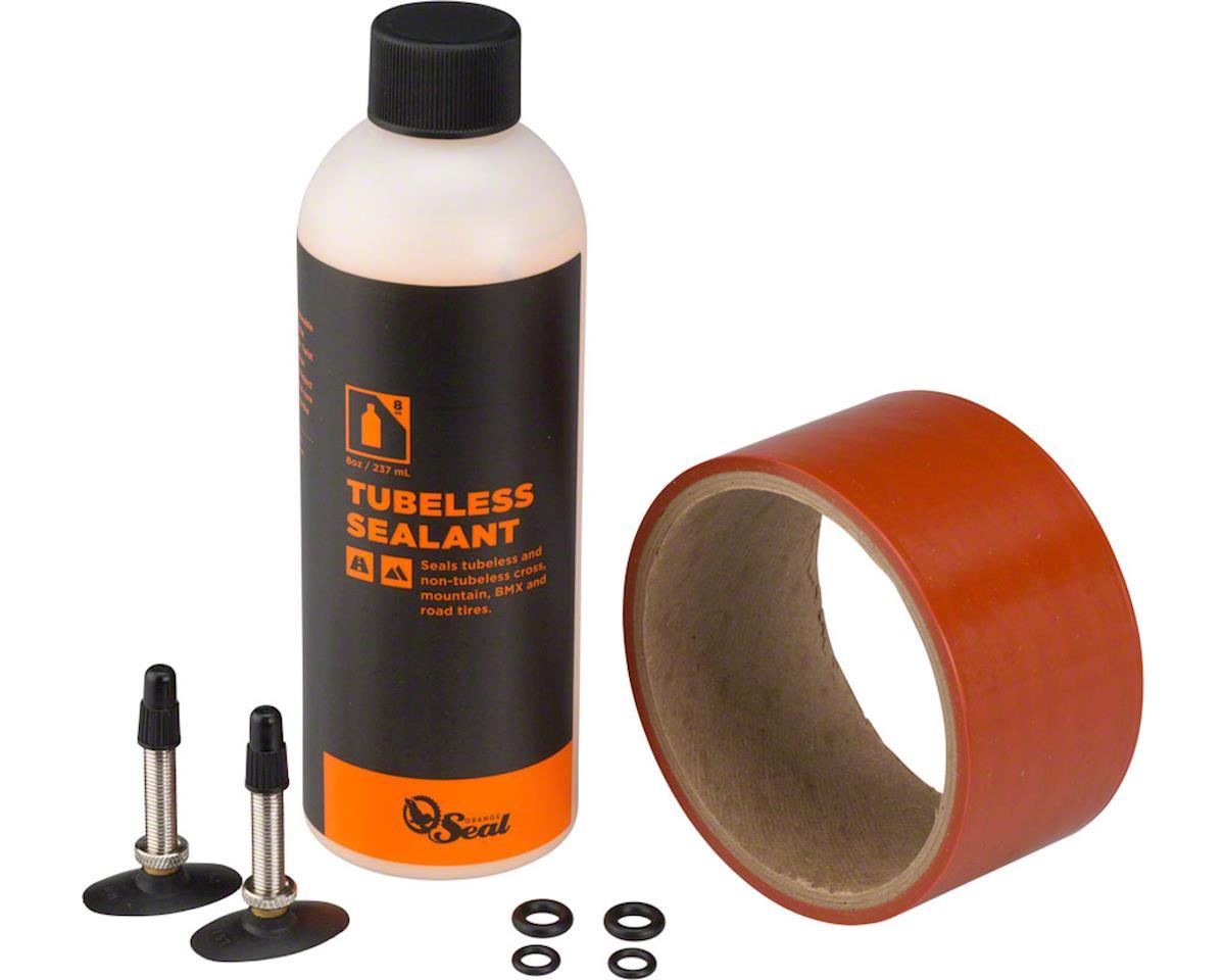 Orange Seal 45mm Fatbike Tubeless Kit with Original Formula Sealant