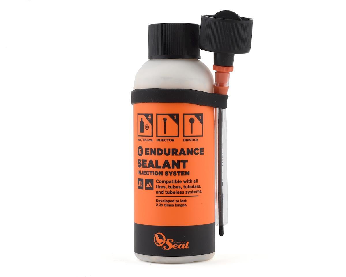 Orange Seal Endurance Tubeless Tire Sealant with Twist Lock Applicator (4oz)