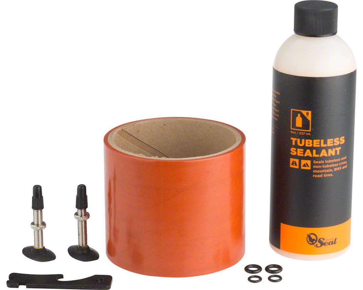 Orange Seal 75mm Fatbike Tubeless Kit with Original Formula Sealant