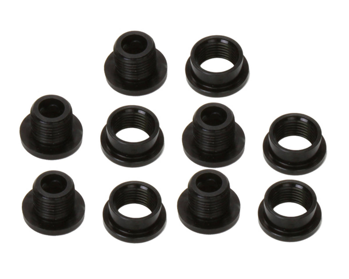 Alloy Single Ring Chainring Bolt Set (5) (Black)