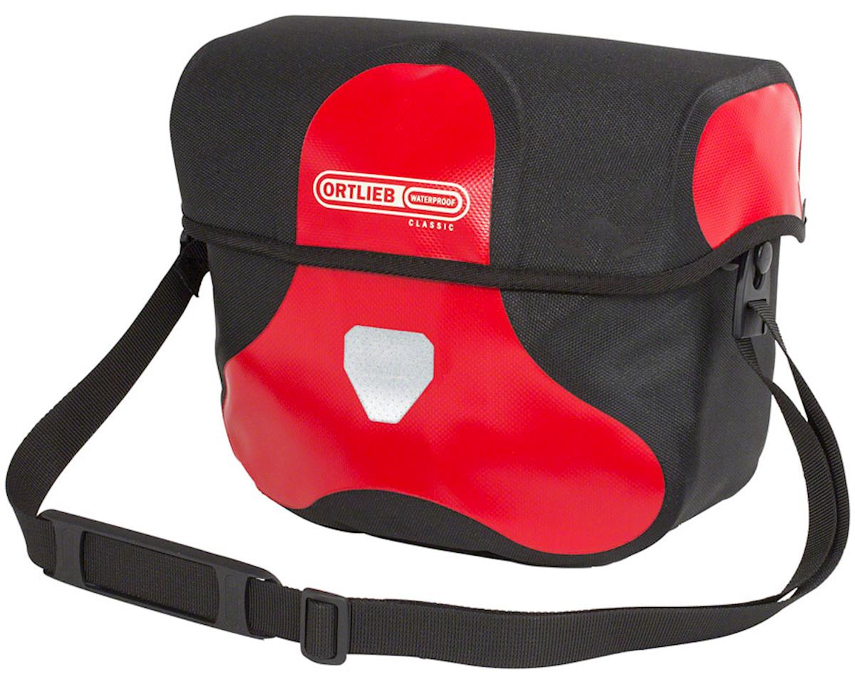Ortlieb Ultimate 6 Classic Handlebar Bag: Medium, 7 Liter, Red